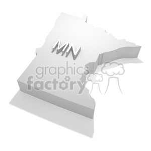 Minnesota-MN clipart. Commercial use image # 383807