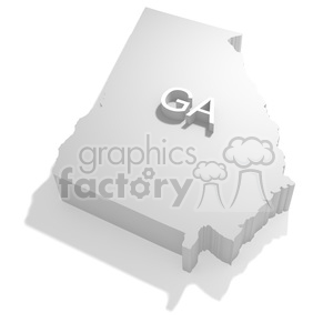 Georgia clipart. Royalty-free image # 383817
