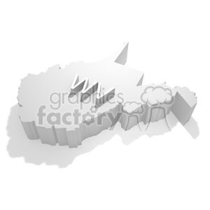 West Virginia clipart. Royalty-free image # 383822