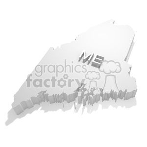 Maine clipart. Royalty-free image # 383837