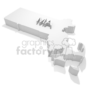 Massachusetts clipart. Royalty-free image # 383842