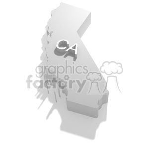 California clipart. Royalty-free image # 383847