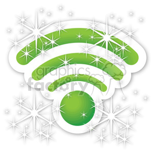 wireless magic wifi signal clipart. Royalty-free image # 383900