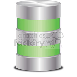 vector database icon holding data clipart. Royalty-free image # 383910