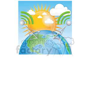 wireless world clipart. Royalty-free image # 383935