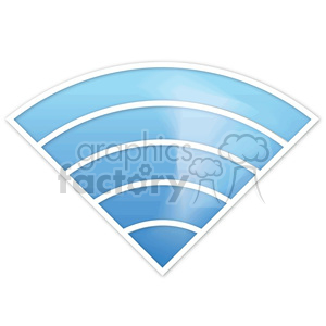 wifi-signal-icon-blue animation. Royalty-free animation # 383940