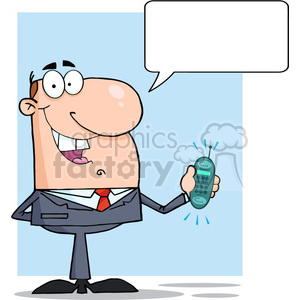 business-man-cartoon-character clipart. Royalty-free image # 384185