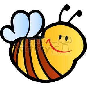 little-bee clipart. Royalty-free image # 384348