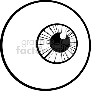 Royalty Free RF Eye Ball clipart. Royalty-free image # 384383