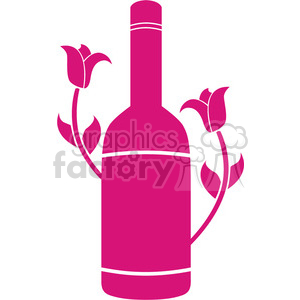 bottle-of-wine-2 clipart. Royalty-free image # 384582