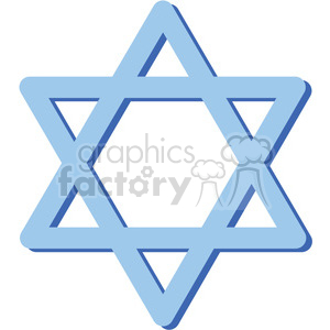 star-of-David clipart. Royalty-free image # 384602