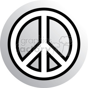 peace symbol clipart. Commercial use image # 384652