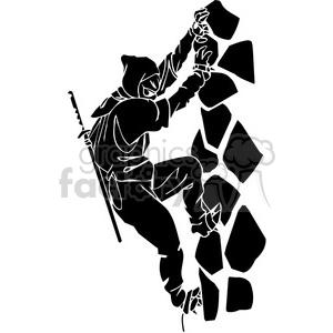 ninja clipart 043 clipart. Royalty-free image # 384677