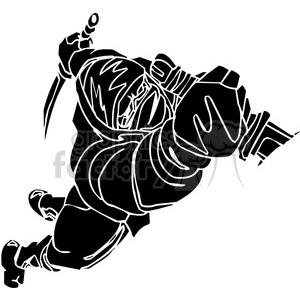 ninja clipart 010 clipart. Royalty-free image # 384687