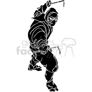 ninja clipart 005 clipart. Royalty-free image # 384717