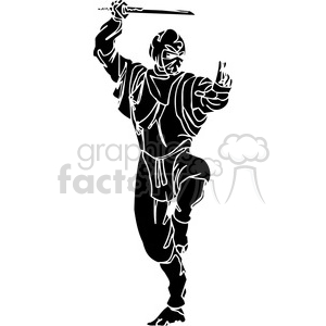 ninja clipart 035 clipart. Commercial use image # 384722