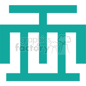 Adrinka symbols 001 clipart. Royalty-free image # 384800
