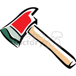 cartoon axe clipart. Royalty-free image # 384992