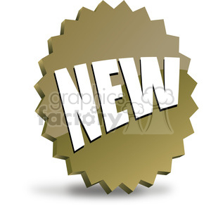 NEW-icon-image-vector-art-brown 002 clipart. Royalty-free image # 385562