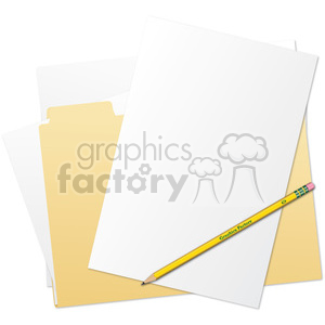 folder files clipart. Royalty-free image # 385602