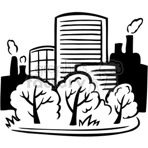 eco buildings environment 062 clipart. Royalty-free image # 386167