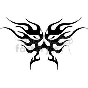 tribal masks vinyl ready art 006 clipart. Royalty-free image # 386386