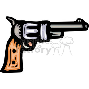 revolver pistol clipart. Commercial use image # 173670