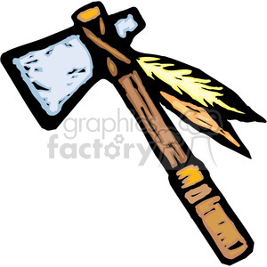 tomahawk clipart. Commercial use image # 173696