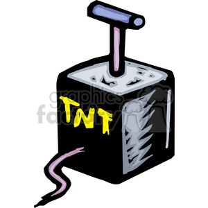 TNT clipart. Commercial use image # 173704