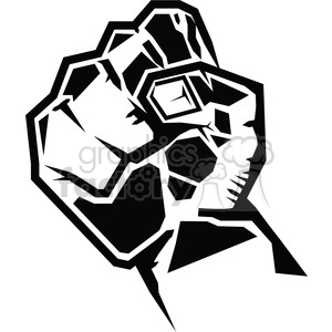 fist clipart. Commercial use image # 386442