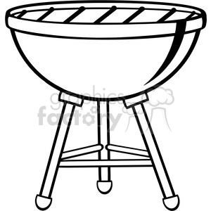 Clipart barbecue grill clipart. Royalty-free image # 386572