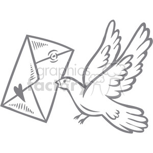 love bird clipart. Royalty-free image # 386651