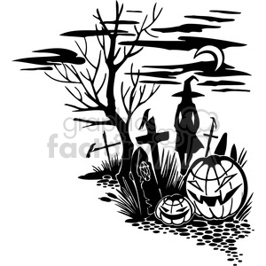 Halloween clipart illustrations 039 clipart. Royalty-free image # 387059