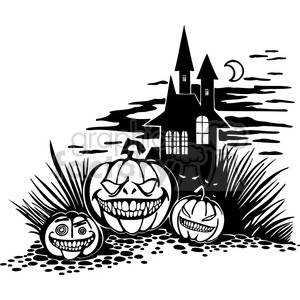 Halloween clipart illustrations 027 clipart. Royalty-free image # 387069