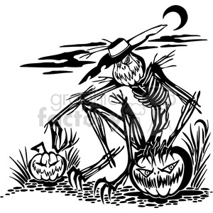 Halloween clipart illustrations 050 clipart. Royalty-free image # 387089