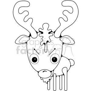Deer Buck clipart. Royalty-free image # 387310