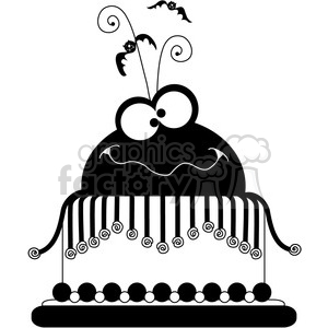 Party Cake 3 clipart. Commercial use image # 387406