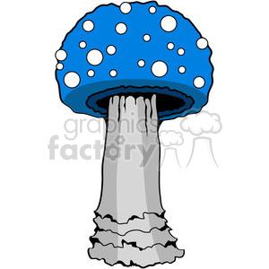 Mushroom 03 blue