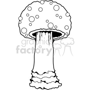 Mushroom 03 clipart. Royalty-free image # 387471