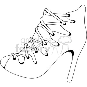 Heels 9 clipart. Royalty-free image # 387611
