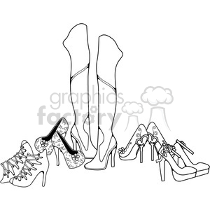 Heels 12 Collection clipart. Royalty-free image # 387620