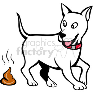 dog poop clipart. Royalty-free image # 388355