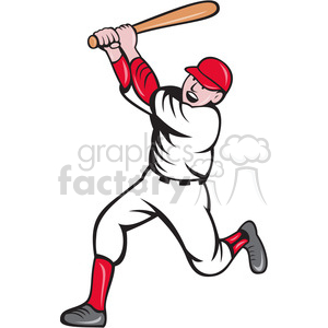 batter inaction batting clipart. Royalty-free image # 388433