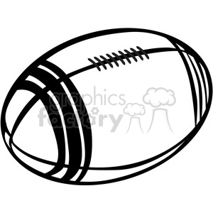 football outline clipart. Royalty-free image # 390061