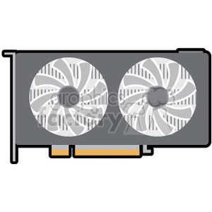 video card image clipart. Royalty-free image # 390071