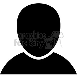 person head icon clipart. Royalty-free icon # 390081