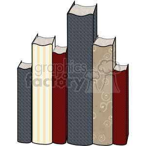 Book Group clipart. Commercial use image # 391558