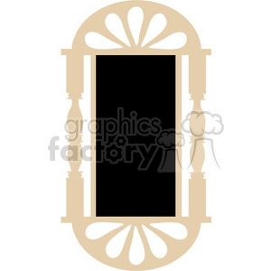 Chalkboard Frame 03 clipart. Commercial use image # 391572