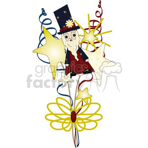 4th July Decoration clipart. Royalty-free image # 391616