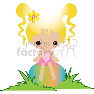 Simple Girl 02 clipart. Royalty-free image # 391630